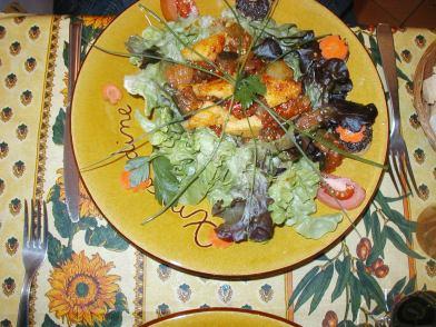 プロバンス風サラダ 美味しさはまず目で味わってから